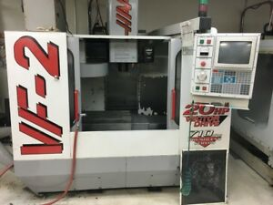 1998 Haas Vf 2 Vmc With Gearbox Pcool Auger Mist Collector More