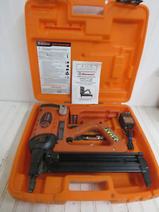 Itw Ramset Tf1200 Trakfast Fastener Gun Kit In Case 2 Batteries