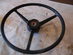 International 1480 Combine Farm Tractor Steering Wheel nice