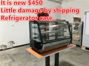Show Bakery Pastry Deli Case Refrigerator Refrigerated Restaurant Equipment