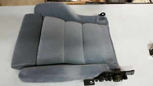 87 89 1989 Saleen Mustang Flo Fit Driver Seat Bottom Nos Ford Fox Gray Flofit
