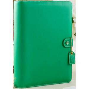 Color Crush A5 Faux Leather Planner Kit 7 5 x10 Summer Green 608807000331