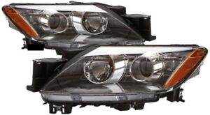 Headlight Pair Halogen Right Passenger Left Driver Fits 2007 2008 Mazda Cx 7