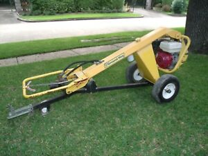 Ground Hog Hd99 h Tow Behind Post Hole Digger Auger Honda Gx270