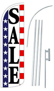 Sale Flutter Feather Flag Sign Blade Banner 30 Wider Super Swooper