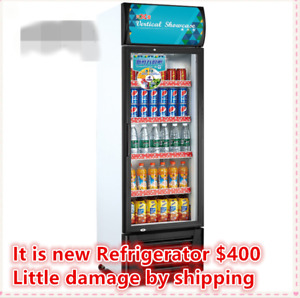 Commercial Reach In Refrigerator Cooler Merchandiser Restaurant Equipment