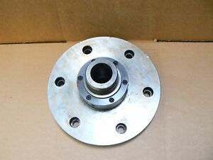 Haas 9 Rotary Table Face Plate With 5c Collet Nose For Hrt 210 Or Hrt 9
