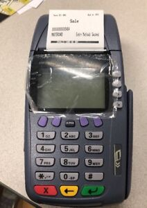 Brand New In Factory Box Verifone Omni 3750 Terminal With External Pin Keypad