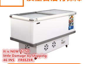 Ice Cream Dipping Cabinet Freezer Display Cases Chest Freezer Frozen Snack Food