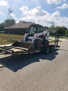 Bobcat S250 With Kubota Diesel And Fully Enclosed Cab