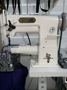 Cylinder Walking Foot Leather Sewing Machine