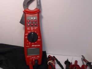 Snap On Eedm575d Meter Digital Clamp On k12009862
