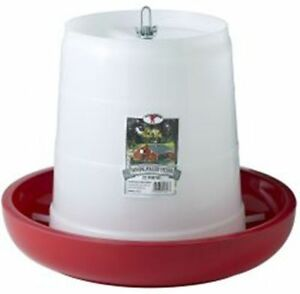 Poultry Chicken 22 Pound Hanging Feeder Plastic Feed Saver