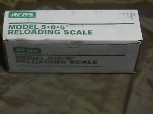 RCBS 505 Scale New In Box Complete