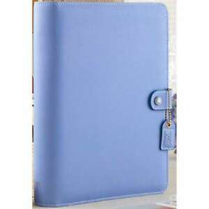 Color Crush A5 Faux Leather 6 ring Planner Binder 7 5 x10 Periwi 608807000294