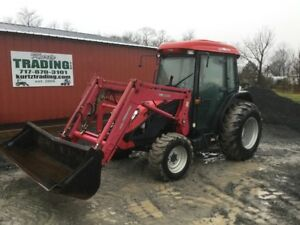 2012 Tym T603 4x4 Compact Tractor W Cab Loader Coming Soon