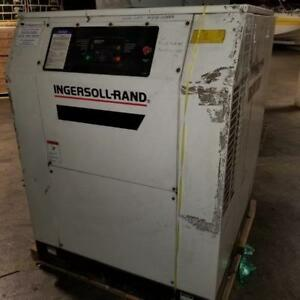 Ingersoll Rand 40 Hp Air Compressor Model Ssr ep40se With Electrical Box