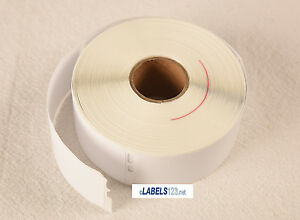 White Thermal 25 Rolls Dymo Compatible 30252 Address Labels Paypal Usps Ebay