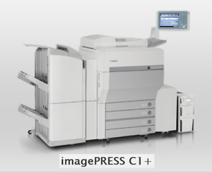 Canon Imagepress C 1 Copier Printer Highest Quality Color And B w Multi Drawer