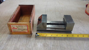 Vintage Enco Model 44403 3 Jaws Precision Machinist Toolmaker Vice Vise