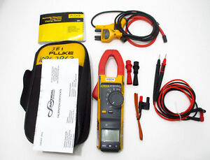 Fluke 381 Nist Clamp Meter W 2018 2019 Current Calibrations Remote Display