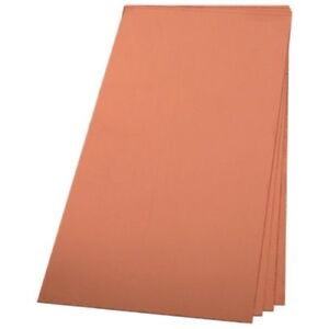 Copper Sheet Metal 12 X 12 Inch 16 Ounce 24 Gauge Revere Western Quality Square