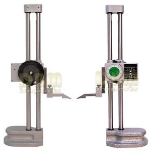 Double Dual Twin Beam 18 Dial Height Gage Gauge 001 Digital Digit Counter