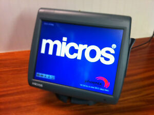 Micros Workstation 5a Pos Touchscreen Intel Atom N450 Tested