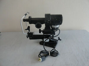 Bausch Lomb Keratometer Ophthalmometer 71 21 35 Read Description