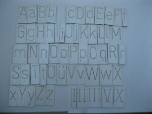 Scott New Hermes 1 1 4 Engraving Font Set pt72