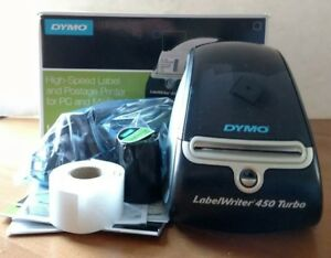 Genuine Dymo Labelwriter 450 Turbo Thermal Label Printer Tried Once