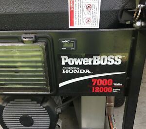 Honda Powerboss Generator 7000kw Gas Powered