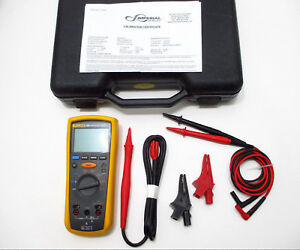 Fluke 1507 Nist Insulation Tester Set Calibrated W Cal Certificate Excellent