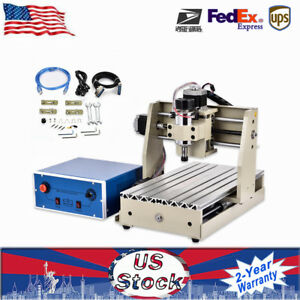 3 Axis 3020t Usb Cnc 300w Engraver Milling Carving Machine Router Cutter Us Well