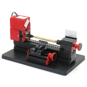Mini 6in1 Lathe Metal Diy Tool Kit Jigsaw Milling Lathe Drilling Machine Artwork