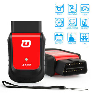 Bluetooth Obd2 Diagnostic Tool Battery Dpf Epb Oil Reset Abs Tpms For Android
