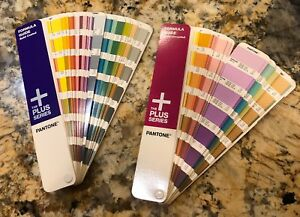 Pantone Plus Solid Coated Solid Uncoated Guide Books Like New