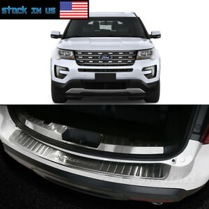 Rear Bumper Sill Cover Protector Trim Ford Explorer 2013 B4gx