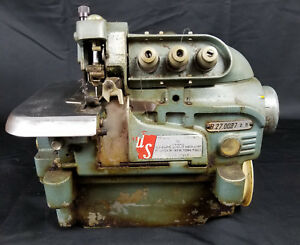 Rimoldi 527 1 needle 3 thread Overlock Italy Industrial Sewing Machine Head Only