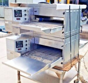 Middleby Marshall Ps520e 208v 1ph Doublestack Pizza Oven