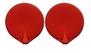 Chattanooga 3 Electrode Rubber Carbon Re usable Red 2 Pack Case Of 5