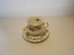 Vintage Queen S Fine Bone China Rosina China Co Tea Cup And Saucer Floral Bows