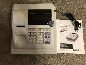 Casio Cash Register Pcr 262 W manual