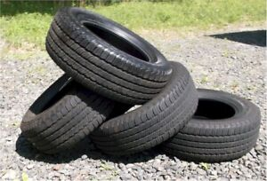4 Great Used Goodyear Fortera Tires P245 65 R17