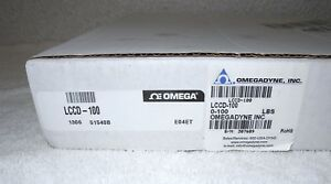New Omega S beam Load Cell Lccd 100 0 100lbs
