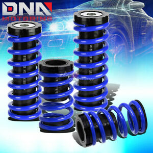 For 00 05 Eclipse 3g 1 3 Scaled Suspension Lowering Coilover Blue Coil Springs