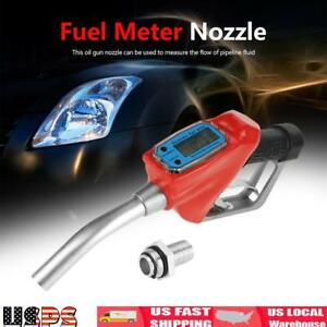 Digital Fuel Dispenser Automatic Shut off Fuel Nozzle Diesel Oil Filling Nozzle
