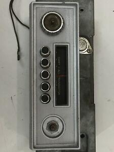 1963 Dodge Dart Radio And Bezel A M Mopar