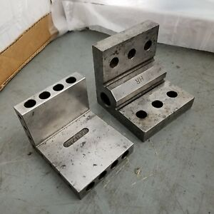 2 quality Angle Step Plate Machinist Toolmaker Hardened Ground Fixture 4