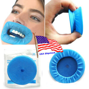 100pc Dental Mouth O Opener Disposable Lip Cheek Retractor Rubber Dam Expanders
